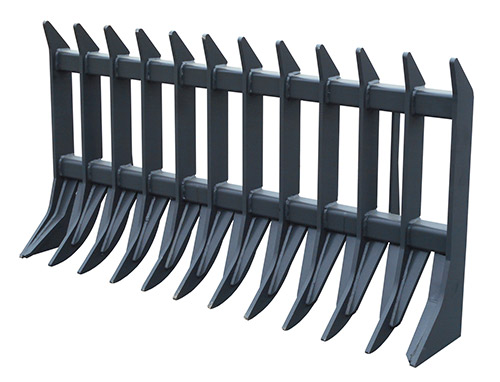 Extreme Root Rake Carolina Attachments Skid Steer And